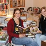 Martina Olufs (rechts) mit unserer Moderatorin Romina Ay im Koch Kontor