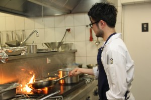 """Die Küche im """"Off Club"""" - das neue Restaurant von Tim Mälzer"""